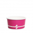 Karat 6oz Hot/Cold Paper Food Containers – Pink (96mm)