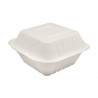 Karat 6inx6in Compostable Bagasse Hinged Containers