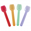 Karat Assorted Color Gelato Spoons