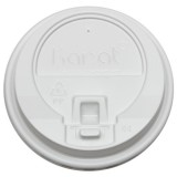 Karat 10-24oz Enclosure Lids – White (90mm)
