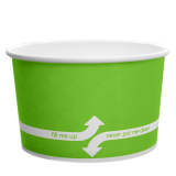 Karat 20oz Hot/Cold Paper Food Containers – Green (127mm)