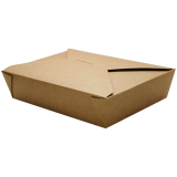 wholesale Karat Brown Fold-To-Go Box (54oz)