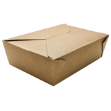 Karat Karat Brown Fold-To-Go Box #3 (76oz)