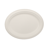 "Karat Earth Eco-friendly 10""x 8"" Bagasse Oval Plates Case"