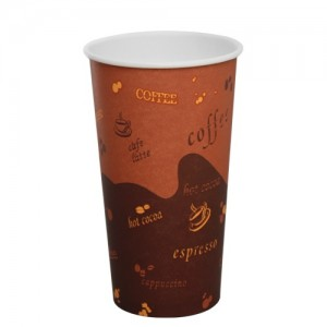 Karat 20oz Paper Hot Cups – Generic (90mm)