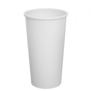 Karat 20oz Paper Hot Cups – White (90mm)