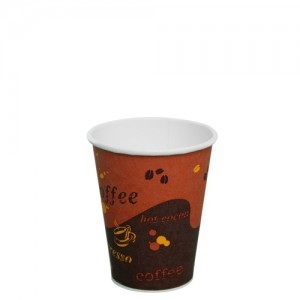 Karat 8oz Paper Hot Cups – Generic (80mm)