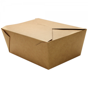 wholesale Karat Brown Fold-To-Go Box (110oz)