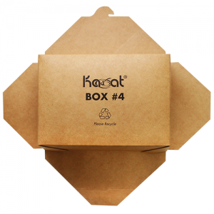Karat Brown Fold-To-Go Box (110oz)