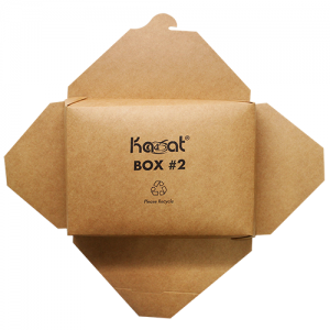 Karat Brown Fold-To-Go Box (54oz)